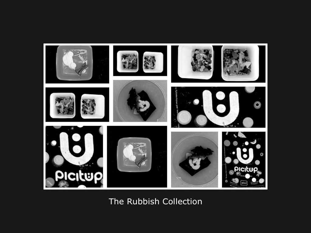 The Rubbish Collection B&W