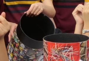 Rubbish bin and hands IMG_7261