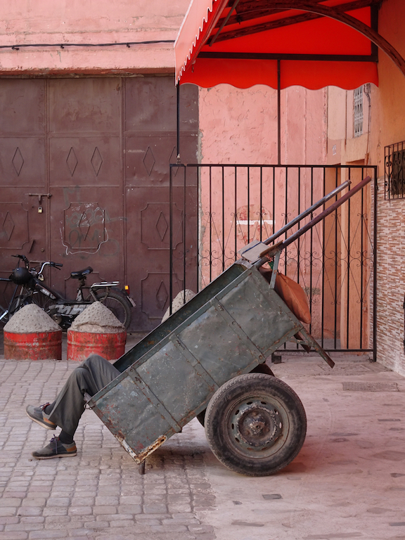 Donkey Cart Marrakesh