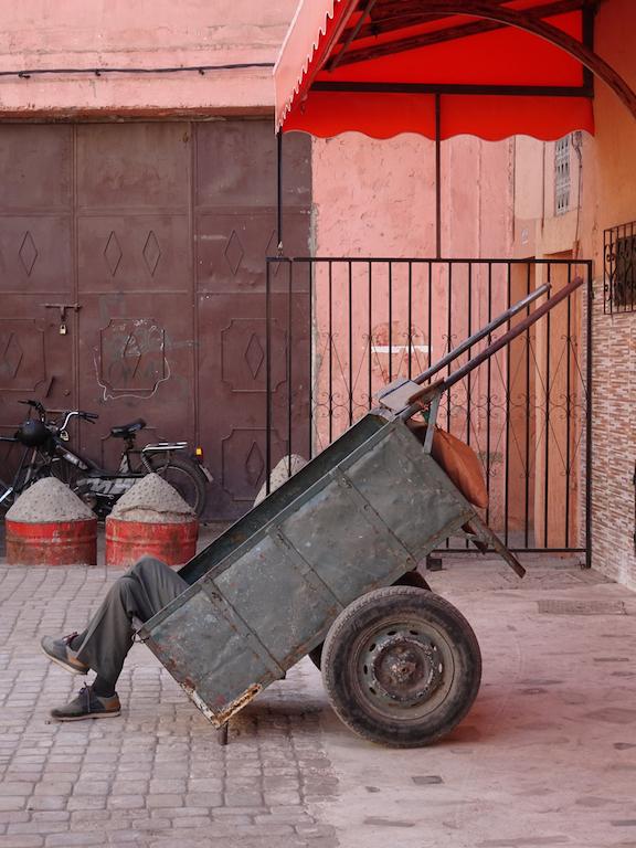Donkey Cart Marrakesh