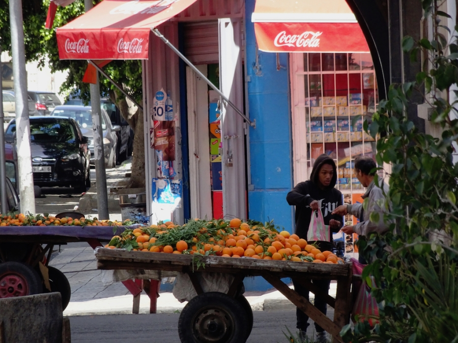 Orange Cart Casablanca