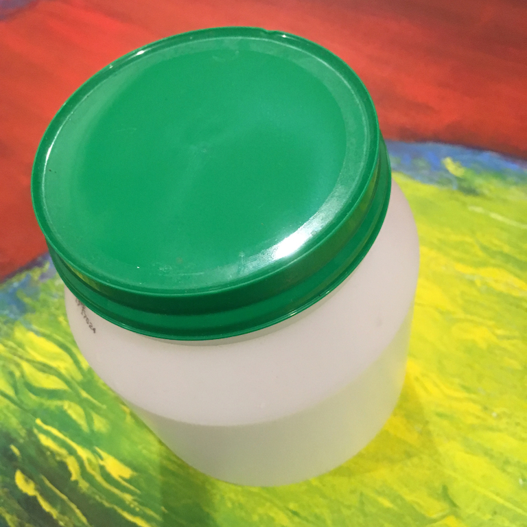 Yoghurt jar